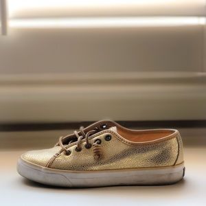 Sperry Gold Sneakers